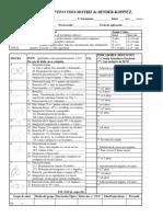 Protocolo de calificación