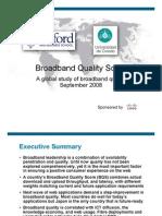 Broadband Quality Study