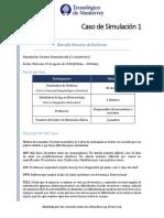 1 Caso de Simulación. DM Duchenne (Ago-Dic 2018)