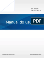 Manual SM-J500 - Celular J5 Samsung