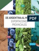 Exportaciones Provinciales Agencia Argentina de Comercio e Inversiones