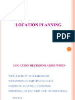 13 Location Study