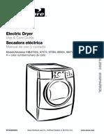 Kenmore He2 Dryer Manual
