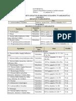 Egzaminų Tvarkaraštis 2018-2019