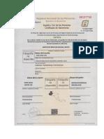 Certificado Nacimiento