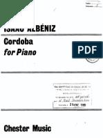 Albeniz - Cordoba