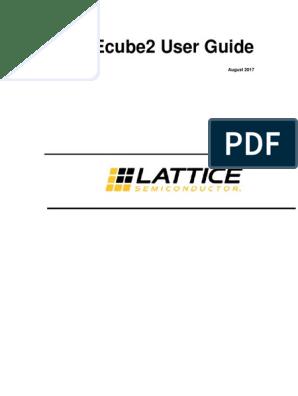 iCEcube2 User Guide | Hardware Description Language | Icon