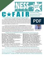 Fairness Oct./Nov. Newsletter