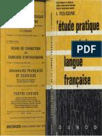 L Etude Pratique de La Langue