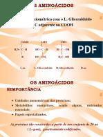AMINOACIDOS 20182