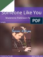 Madeleine Pattinson Pattinson - Someone Like You