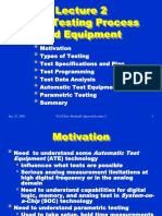 2-VLSI Testing Process and Eqpt