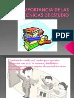 laimportanciadelastecnicasdeestudio-110827175919-phpapp01