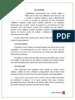 Habla- Jaime Lértora Resumen