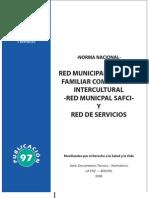 Norma Nacional Red Municipal de Salud Familiar Comunitaria Intercultural  - Red Municipal SAFCI- y Red de Servicios