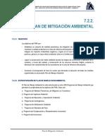 7.2.2. Plan de Mitigacion Ambiental