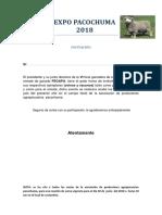 Expo Pacochuma 2018