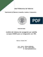 Olivares - Análisis Del Sistema de Navegación Por Satélite Europeo EGNOS Para Su Integración Con ...