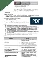 PROCESO CAS 012 2018 Especialista Forestal