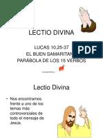 Lectio Divina Lucas 1025 37