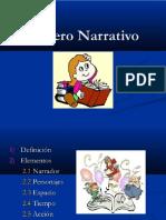 Genero Narrativo 5°