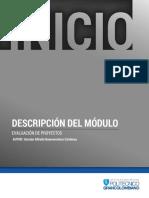 Descripcion Evaluacion de Proyectos