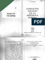 Brunt - Conflictos Republica Romana
