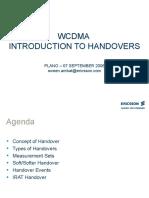 02[1].WCDMA Introducation to Handovers