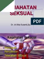 3.1.5.5 Pemeriksaan Kejahatan Seksual Dan Aspek Medikolegal