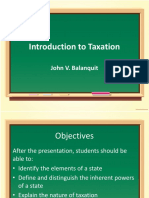 Introduction to Taxation (1)
