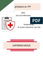 analisa kasus epistaksis ec  ITP.ppt