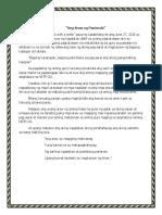 Ang Araw Ng Panimula-journal 1