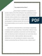 Ang Pagiging Butihing Pilipino-journal 4