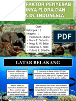 Faktor Penyebab Punahnya Flora Dan Fauna Di Indonesia