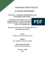 Mejoramiento Logistics EL LEONCITO Flores_chj