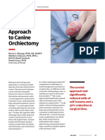 Asna Scrotal Approach to Canine Orchiectomy
