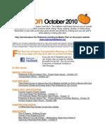 October 2010 Eugene InMotion Newsletter