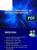 ekonomi publik individu masyarakat sistem perekonomian dan pembangunan.ppt
