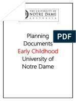 ece planning documents