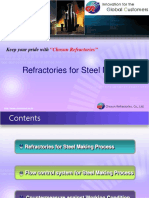 Refractories for Steel Making