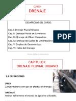 CLASE 1 Cap. I - Drenaje Pluvial Urbano