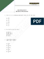 285-Mat 07 - Guía de Ejercicios, Álgebra de Polinomio WEB 2016