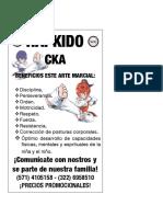 FLYER HAPKIDO CKA NIÑOS 2