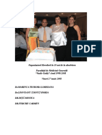 Organizatorii Revederii de 10 Ani absolvire medicina Vasile Goldis Arad.Dr.Leoveanu T.Ionut Horia