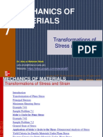 Ch7 Stress Transformations