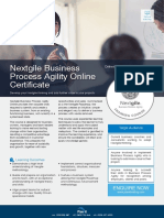 Nextgile Business Process Agility Online Outline