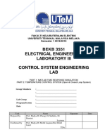 Lab 3 Control System BEKB 3551