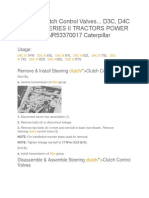 Manual Caterpillar d3c d4c d5c Track Type Tractors 933c 939c