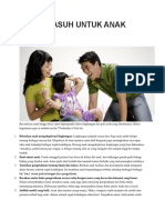 10 Pola Asuh Untuk Anak Cerdas
