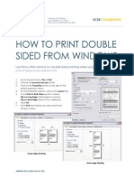 How to Print Double Sided (Win/Mac)
